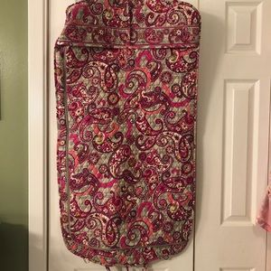Vera Bradley hanging garment bag